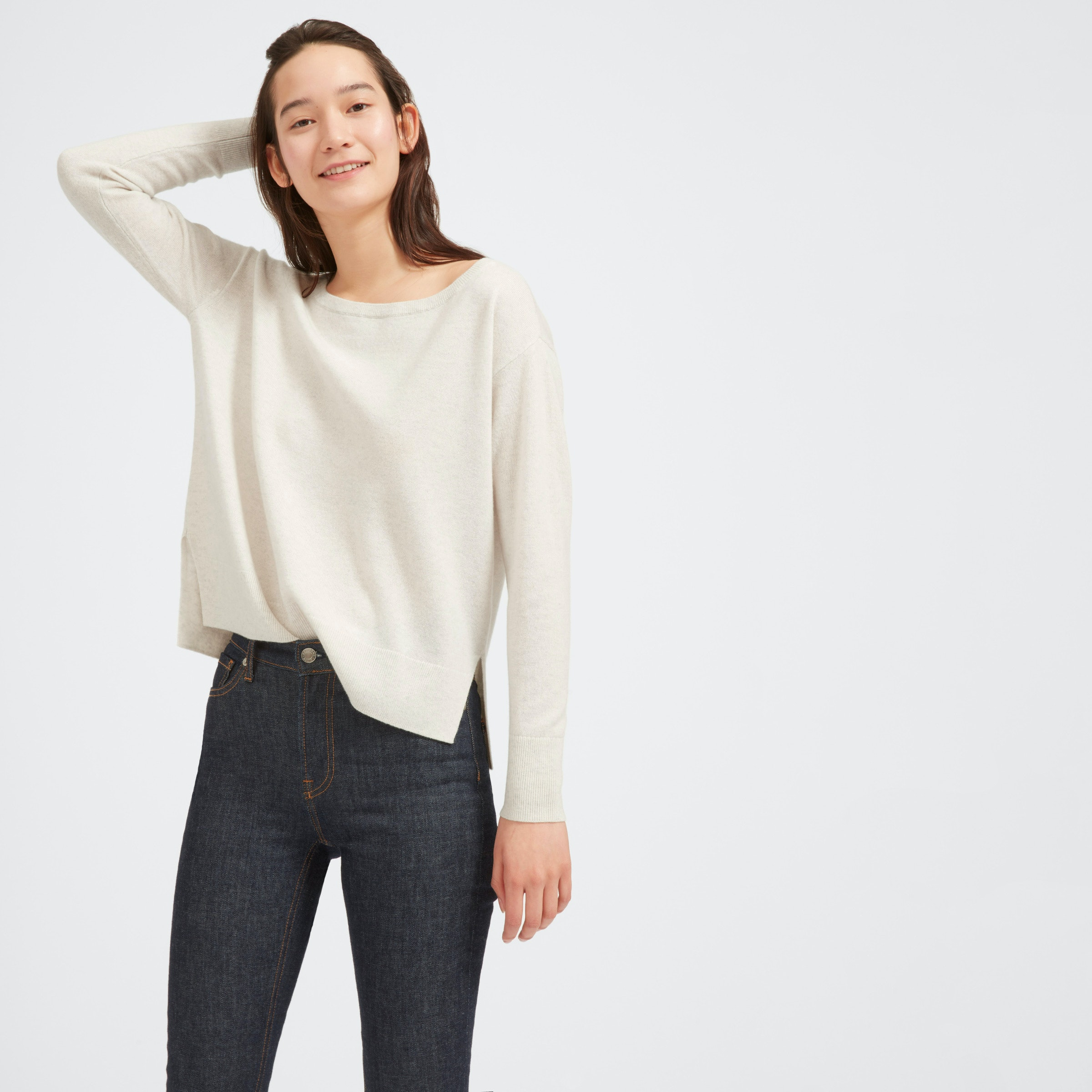 The Slouchy Cashmere Boatneck by Everlane