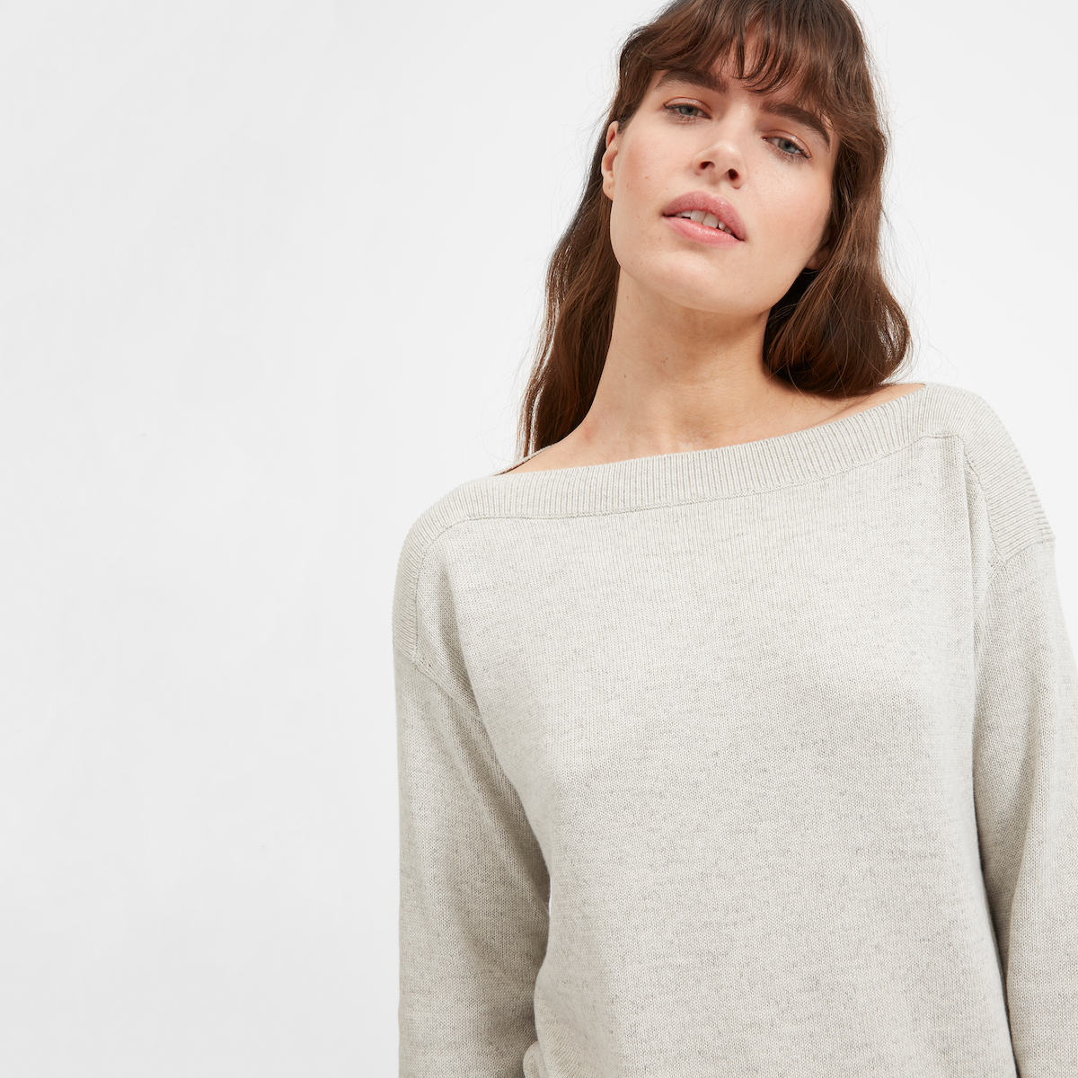 The Soft Cotton Boatneck by Everlane