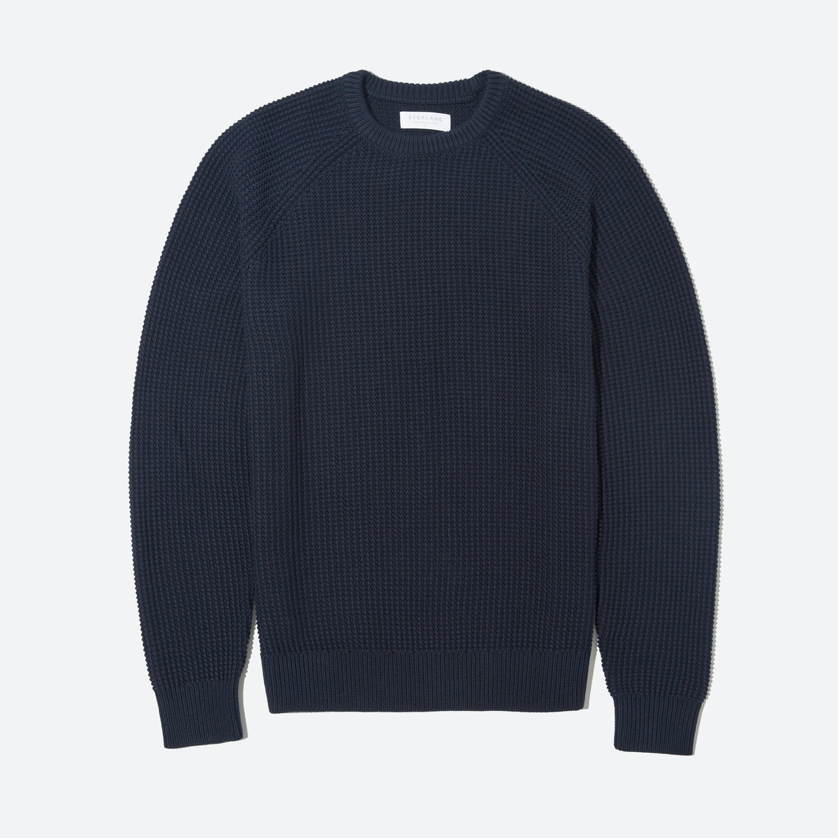 Men's Texture Cotton Crew Sweater | Everlane