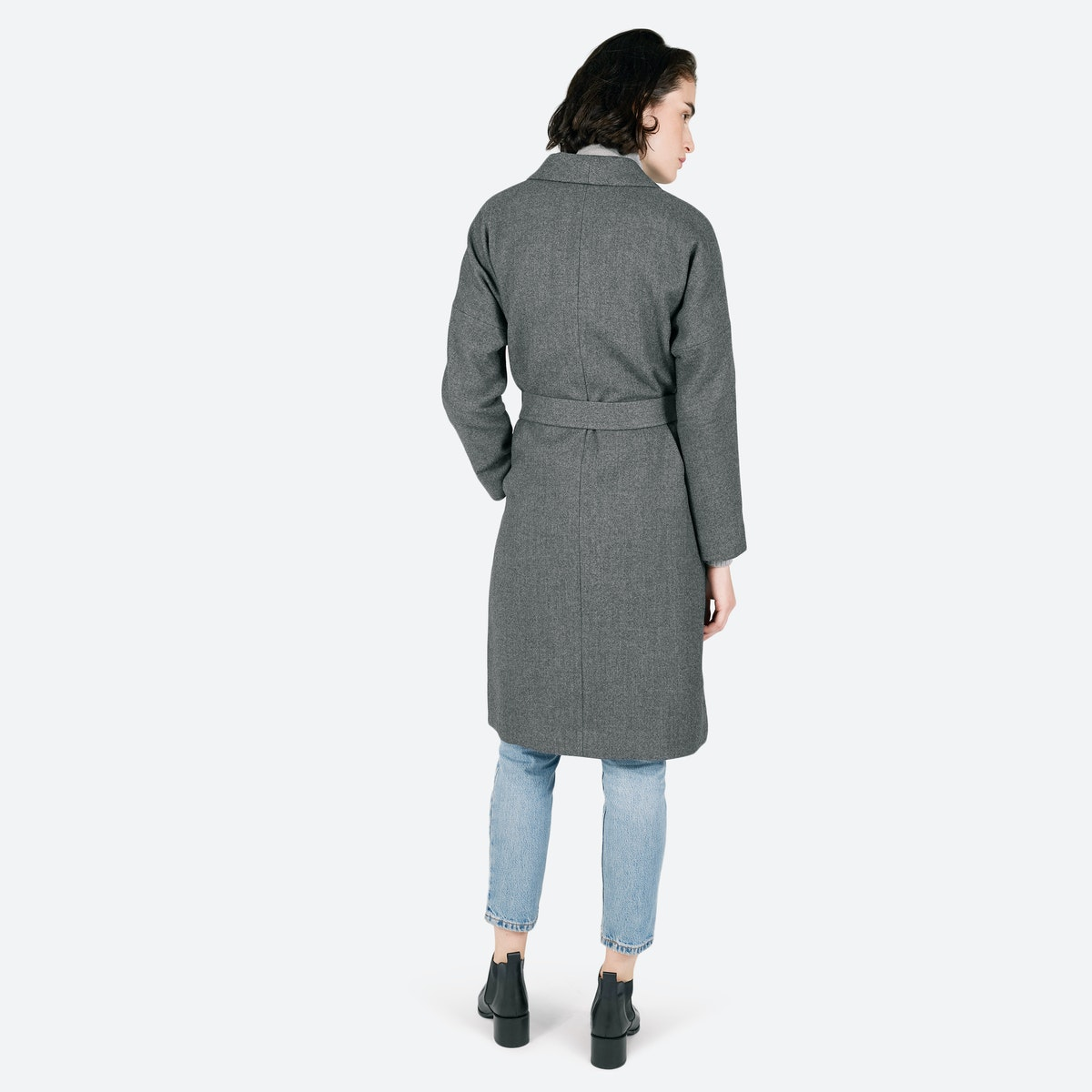 Women's Belted Wool Shawl Coat | Everlane