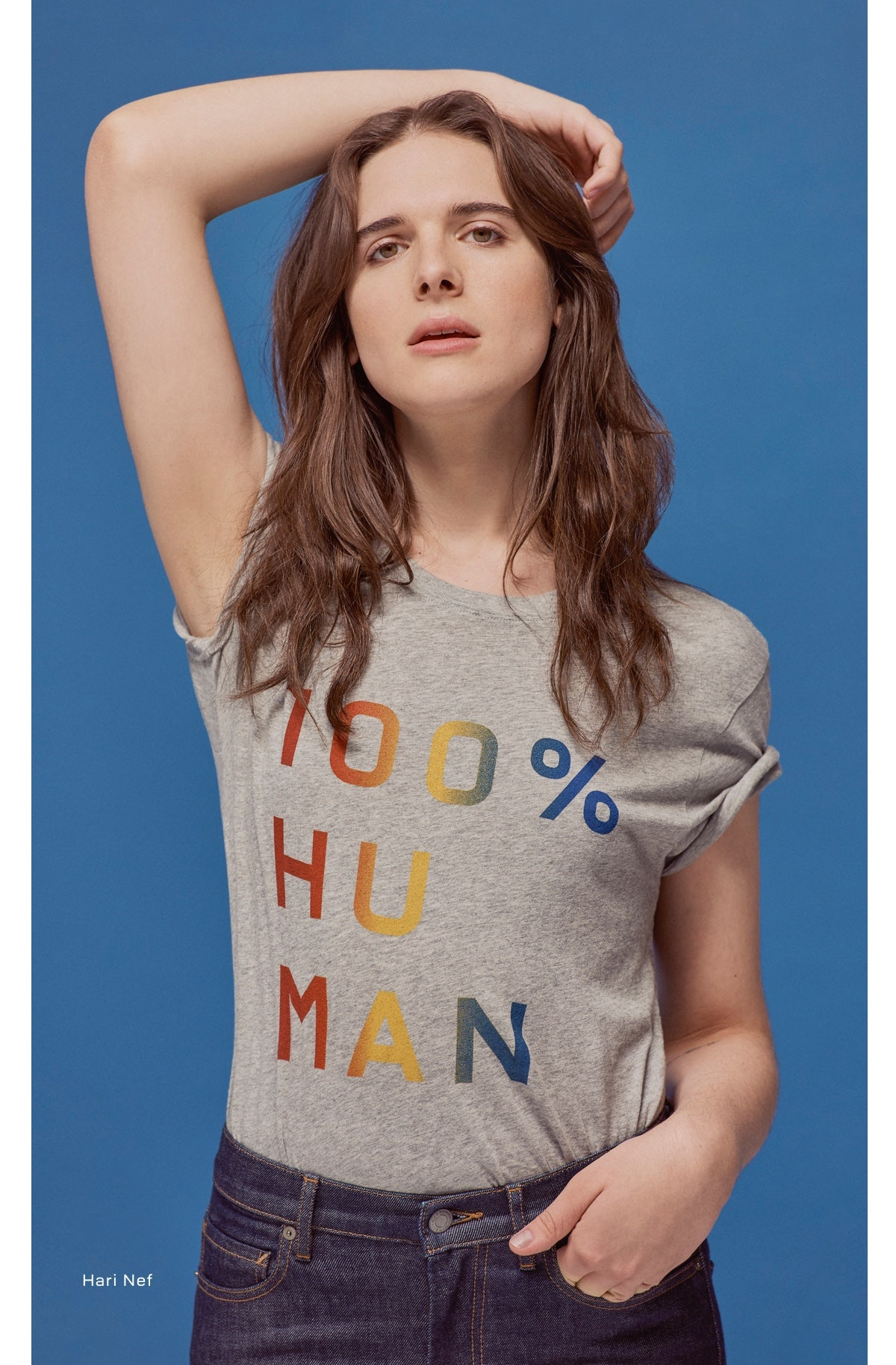 We're all 100% Human.
