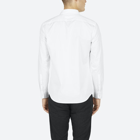 Everlane for Tuxedo shirt covered placket