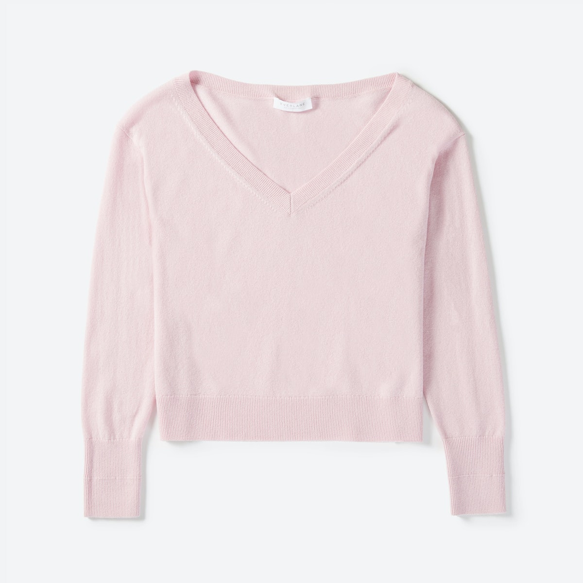 Women's Cashmere Crop V-Neck | Everlane