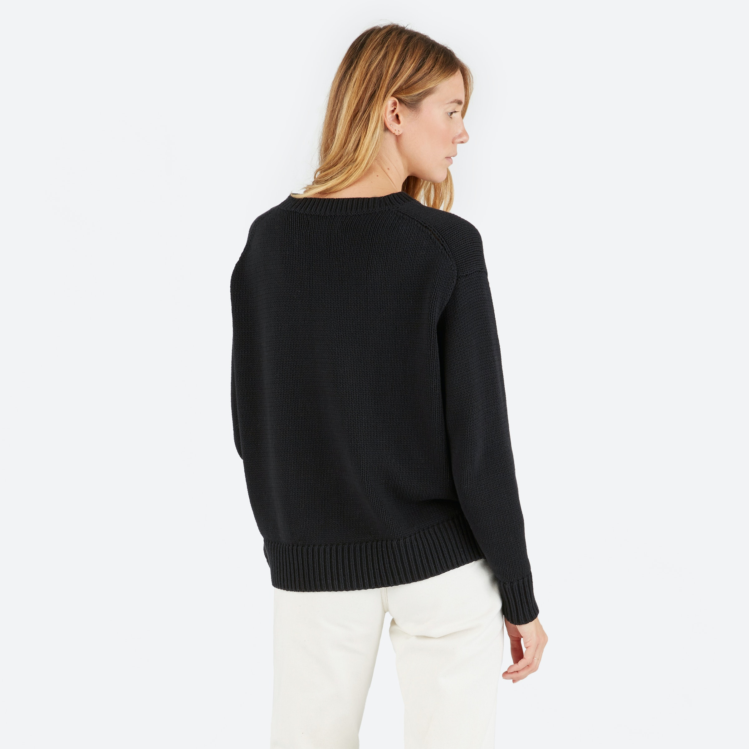 Women's Chunky Knit Cotton Crew | Everlane