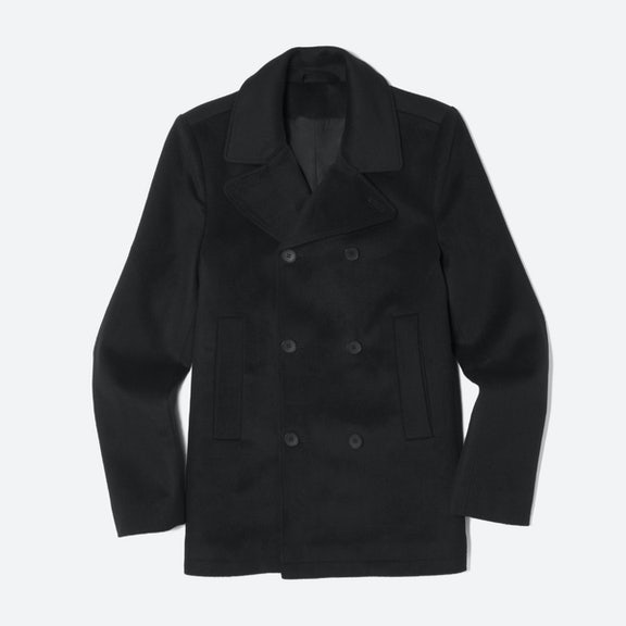 Men's Quilted Peacoat | Everlane