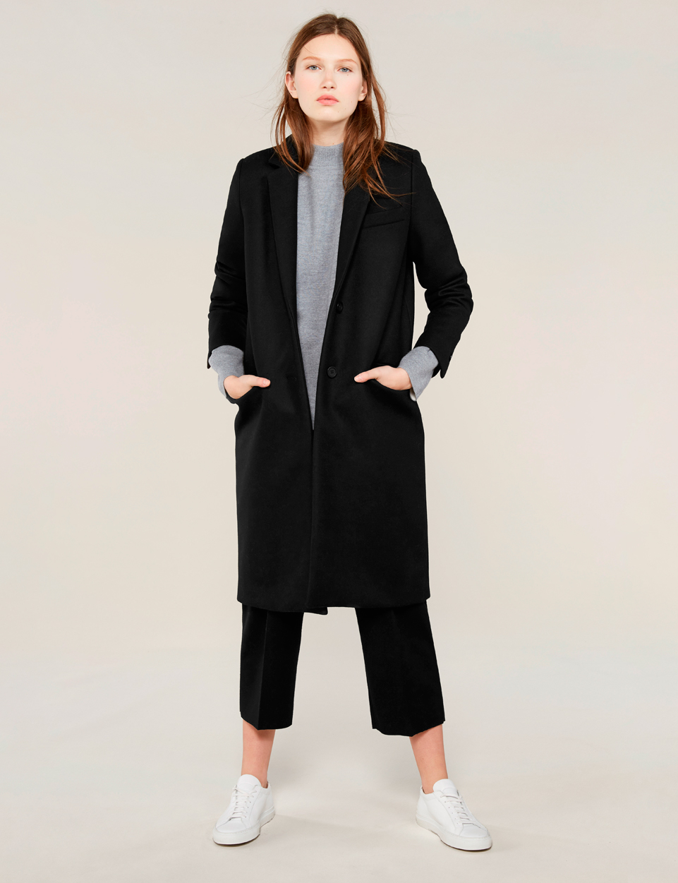 Women's Wool Coat - The Wool Overcoat | Everlane