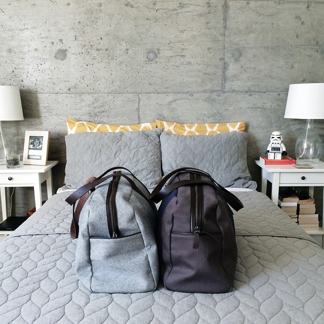 His & Hers Weekender Bags - under $100!