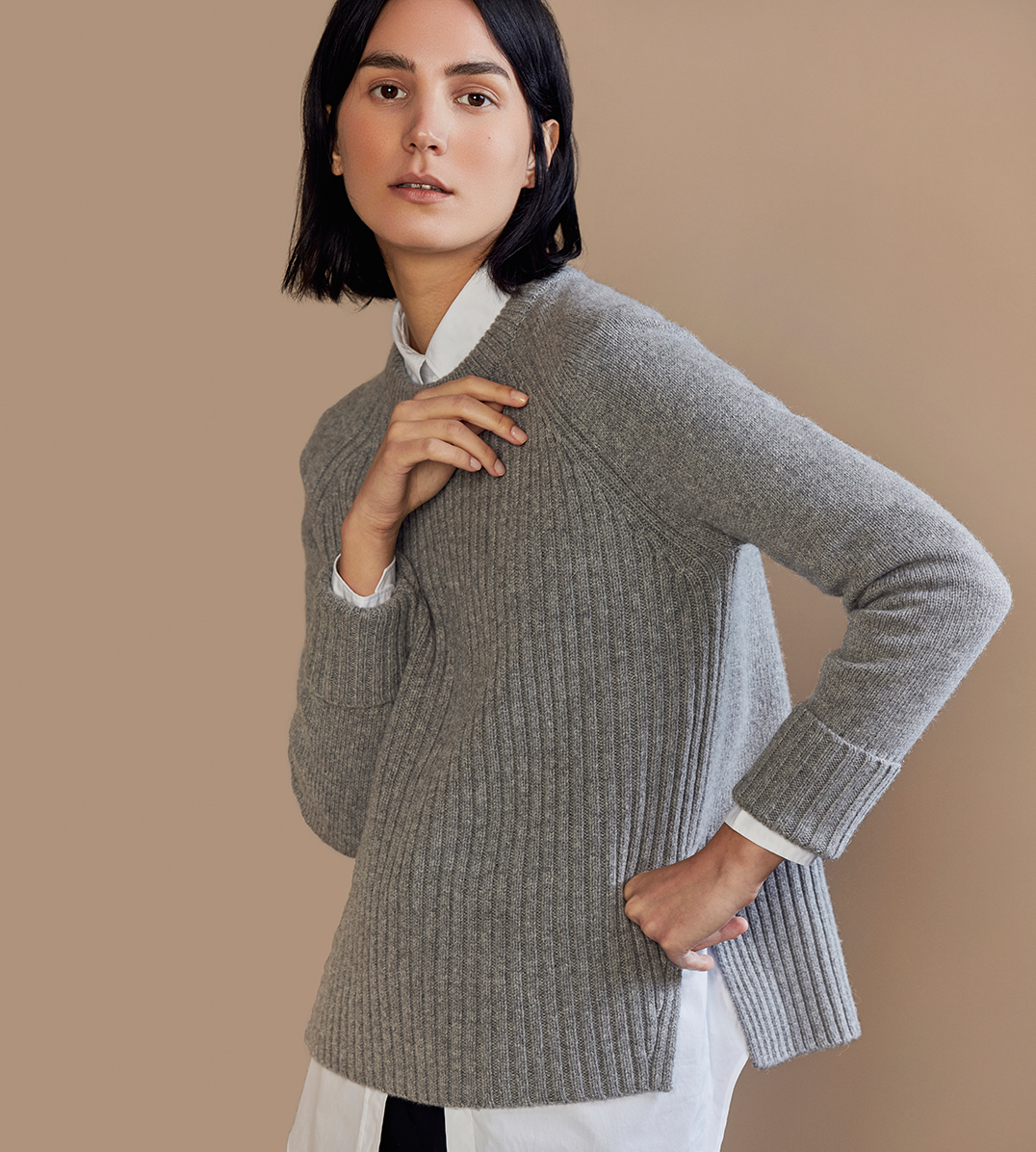 Ribbed Wool-Cashmere Sweaters   Everlane